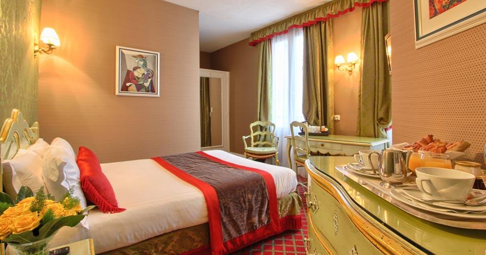 Paris hotel hotel de seine paris france reservation for Chambre de hotel france