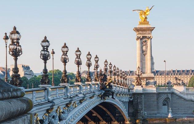 Pont Alexandre III, Parisian Bridges