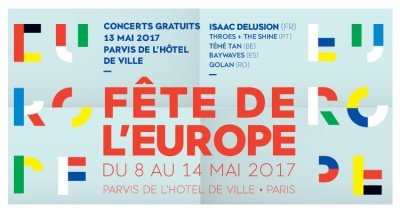 European Day in Paris from May 8 to May 14, 2017