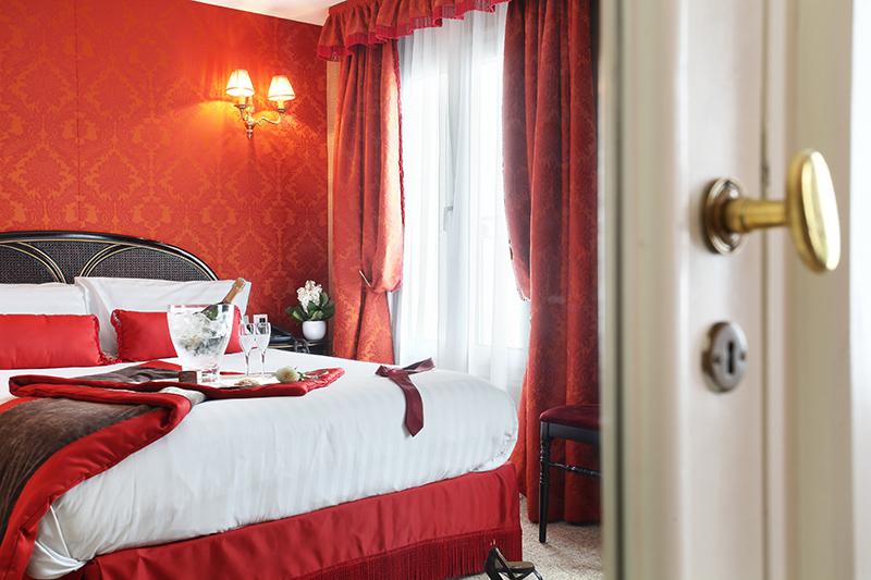 One Night at Hotel de Seine, Paris