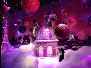 Christmas in Paris: Printemps Haussmann