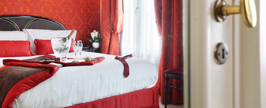 CHAMBRE DOUBLE CLASSIQUE HOTEL DE SEINE PARIS