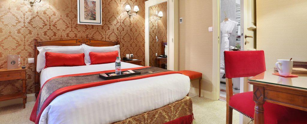 CHAMBRE DOUBLE COSY HOTEL DE SEINE PARIS