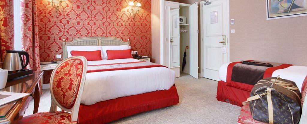 CHAMBRE TRIPLE HOTEL DE SEINE PARIS