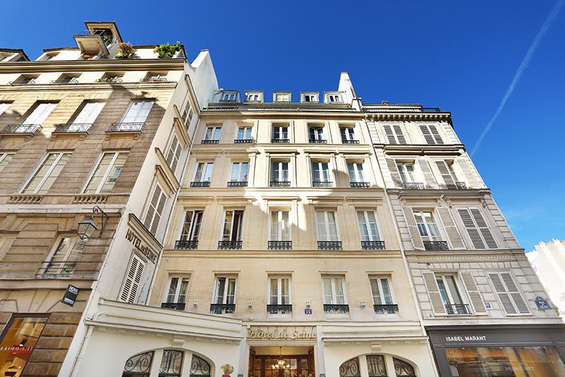 Chambre d'Hôtel Paris Rive Gauche : Hôtel de Seine