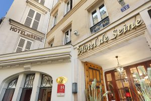 Find a Hotel Open Now in Paris Center : Hotel de Seine